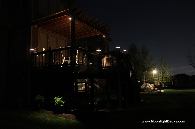 Deck Lights, Deck Lighting, Lighted Post Caps