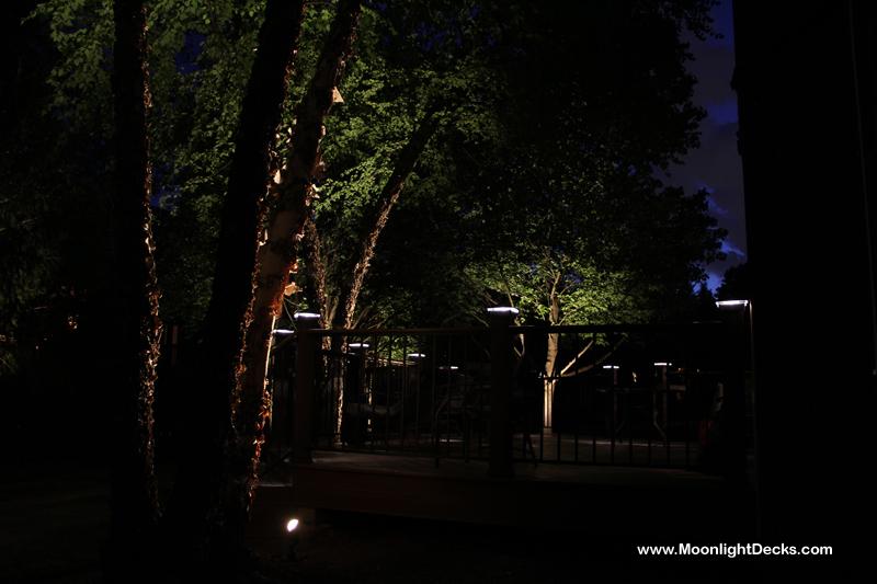 Deck Lighting, Deck Lights, Lighted Post Caps