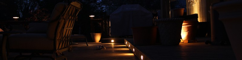Deck Lighting in Overland Park