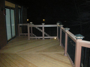 Black Deck Lights / Deck Lighting