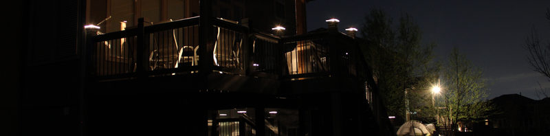 New Deck Lights in Overland Park