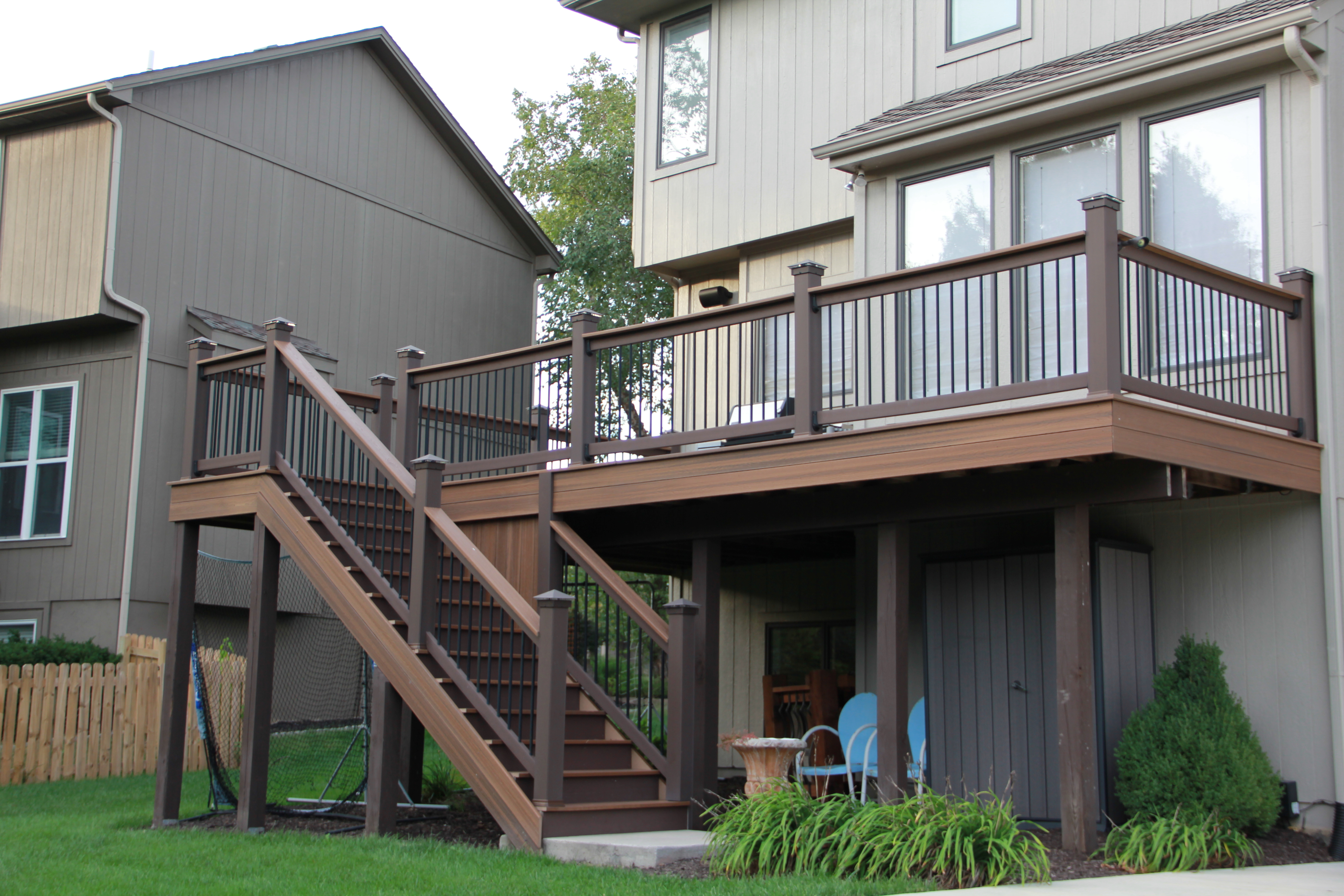 Deck Builder In Overland Park Ks Leawood Olathe Deck Building